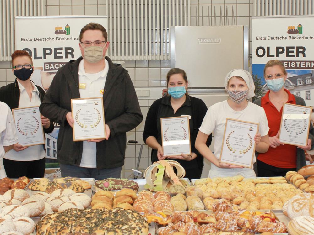 NRW-Meisterschaft der Bäckerjugend 2020 in Olpe